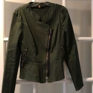 Free people olive green jacket